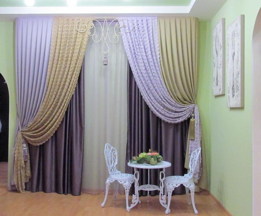 шторы дизайн для зала в картинках зависит