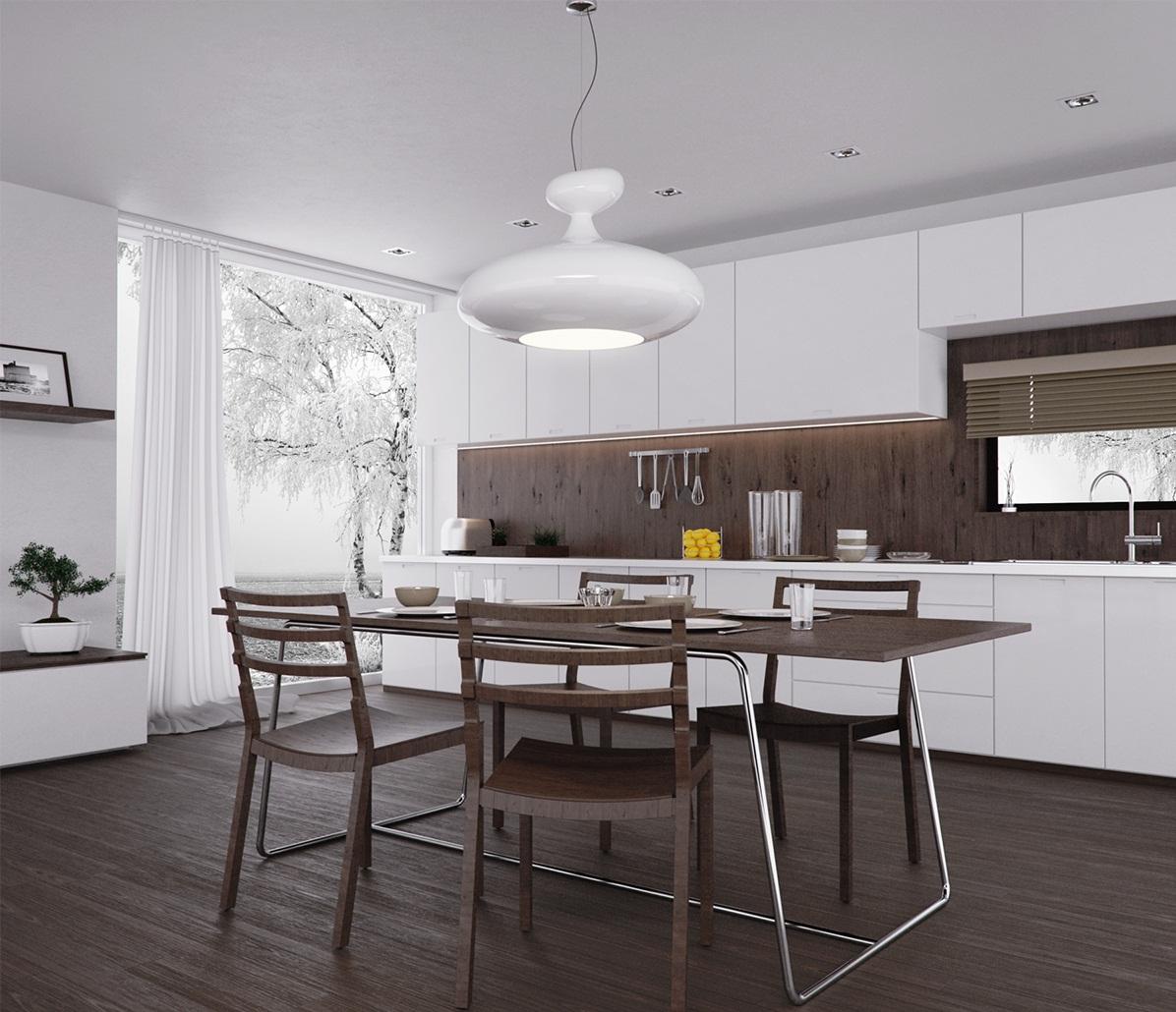 Люстра на кухню может быть как главным, так и второстепенным источником света, от этого во многом зависит ее выбор