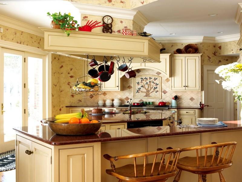 стильное оформление кухонного интерьера