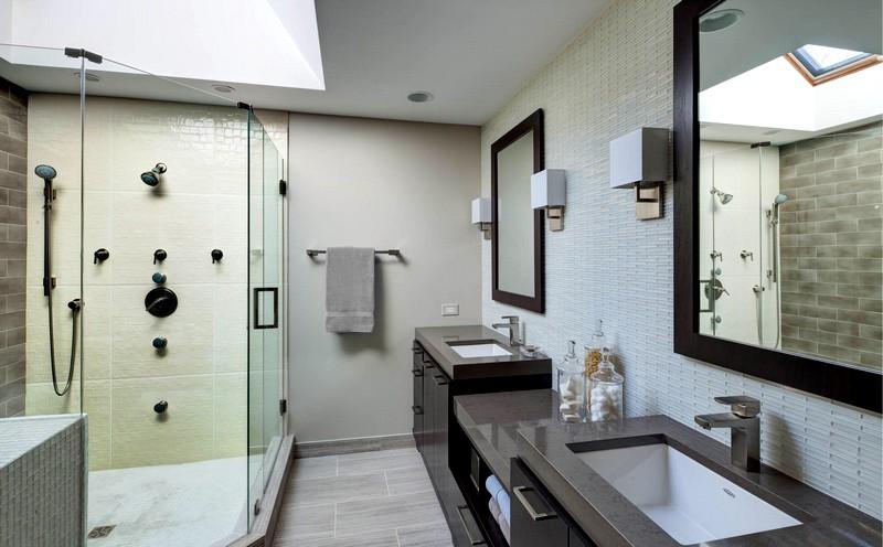 Ванная в американском стиле: заокеанская классика