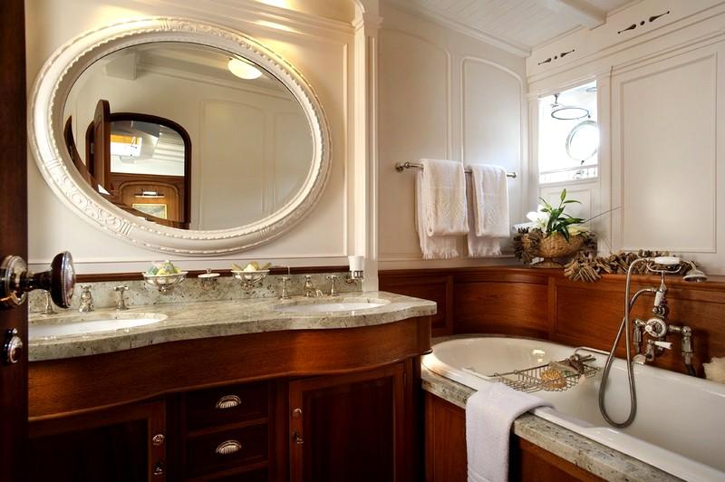 великолепный дизайн ванной комнаты
