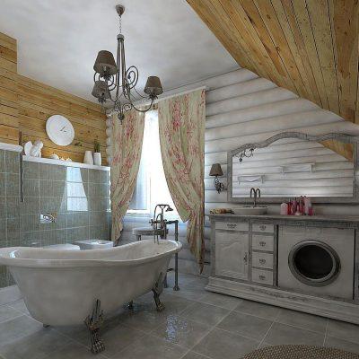 Выкрашенная деревянная мебель в стиле првоанс
