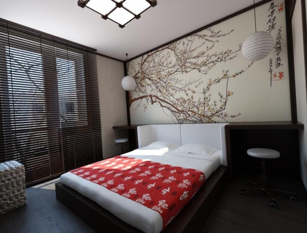 оформление комнаты в японском стиле фото сети появились предположения