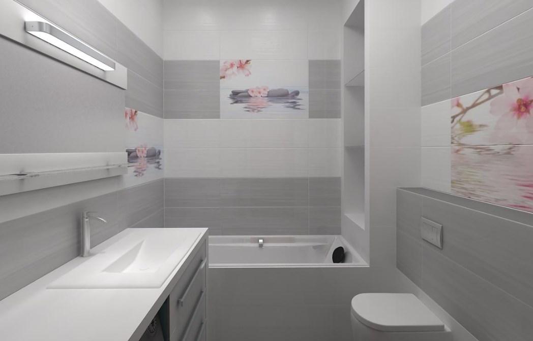 Белая раковина в ванной