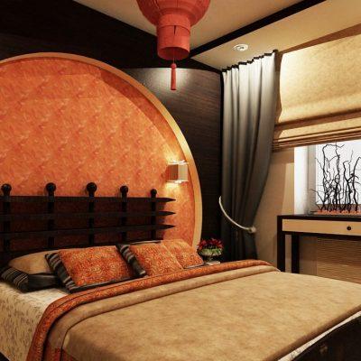 японская спальня