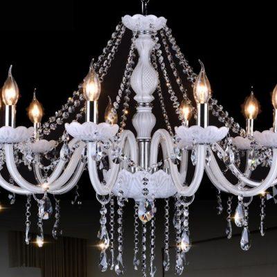 Люстра со свечами