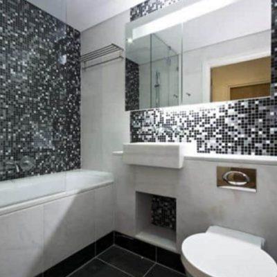 Красивые стены в ванной