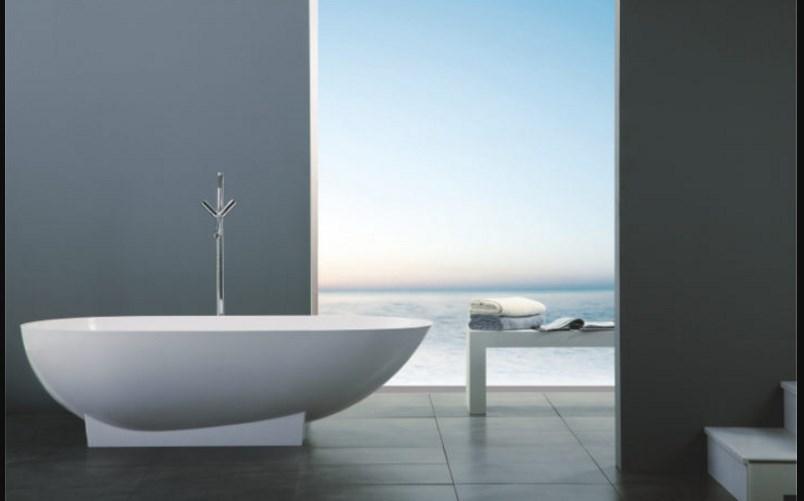 Шикарный вид ванной