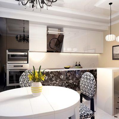 Интерьер кухни на фото
