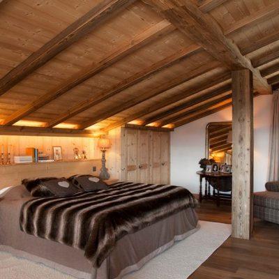 Спальня шале