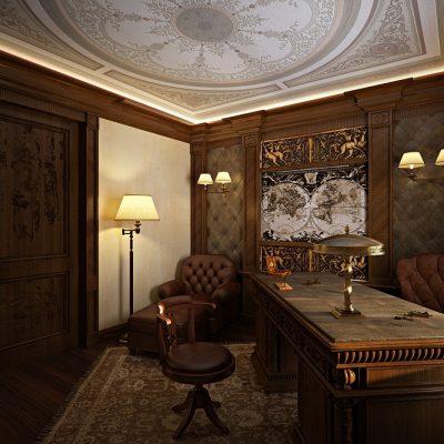 освещение кабинета