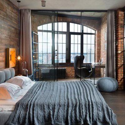 Оформление спальни дизайнером
