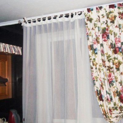 Нежные шторы в провансе