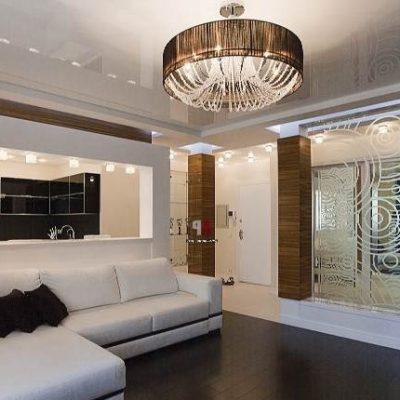Мебель в гостиной в духе классики