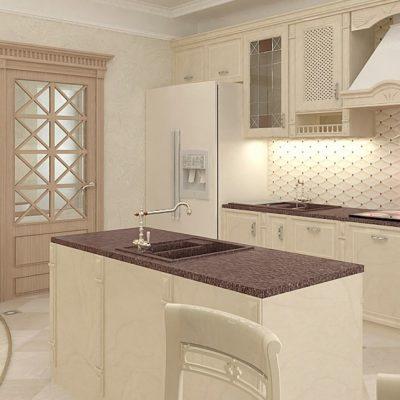 кухня в стиле классика на фото примере