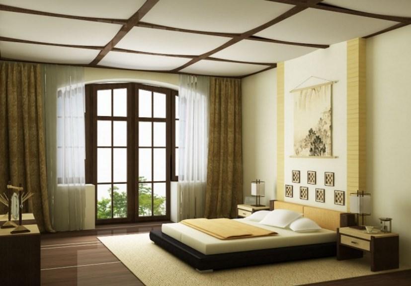 Спальня с окном