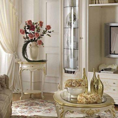 Классическая комната гостиной