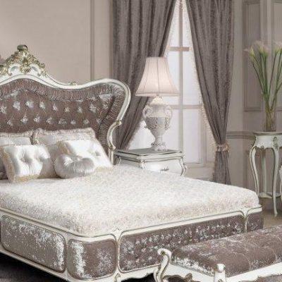 Украшение спальни мебелью