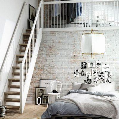 Лестница в спальне