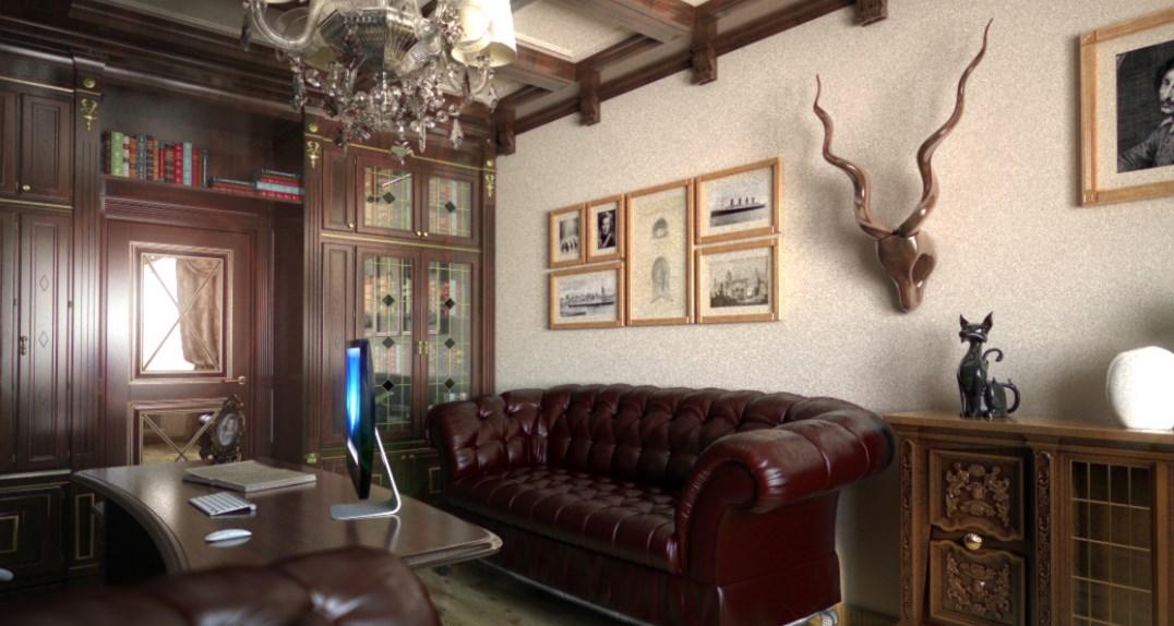 Картины в кабинете