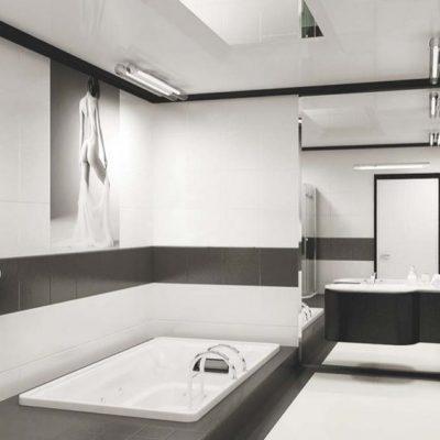 Сантехника в ванной комнате в минимализме