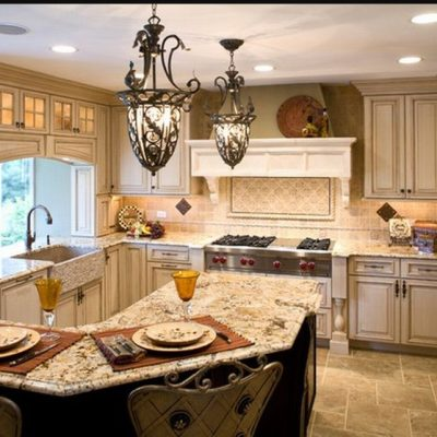 Пример кухни интерьера