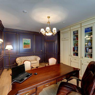 Фото кабинета на примере классики