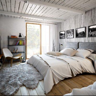 Потолок в стиле лофта