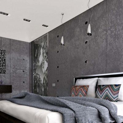 Серый лофт стиль