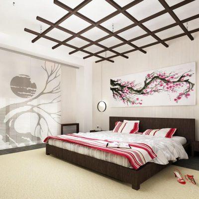 огромная спальня