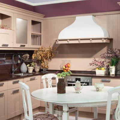 Стиль неоклассика кухни на примере фото