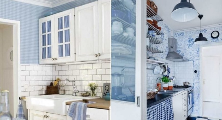 Обои под интерьер кухни