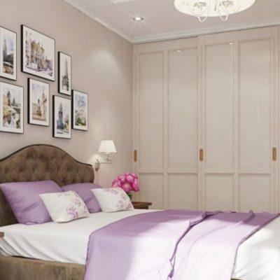 Отличный интерьер спальни для девушки