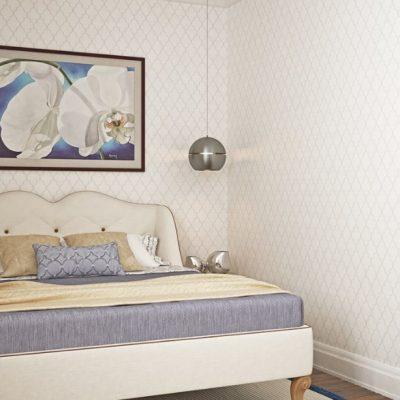 Отличный интерьер спальни для девушки в американском стиле