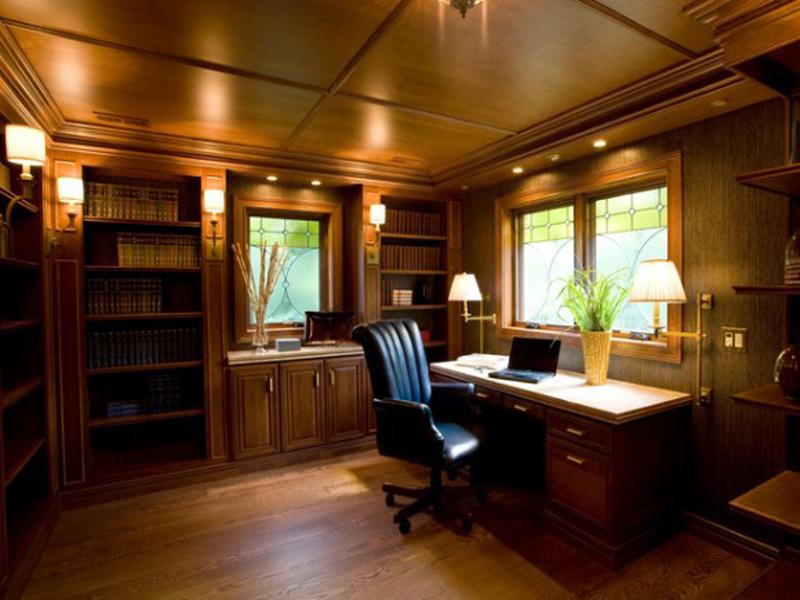 Детали кабинета классики