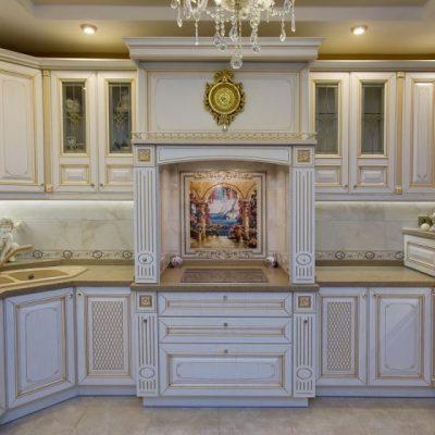 Интерьер барокко кухни