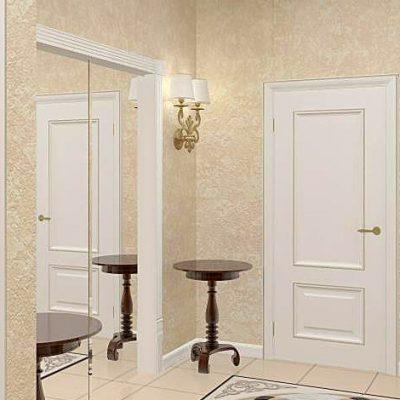 Две двери в интерьере