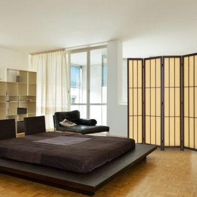 Японский стиль мебели в спальной
