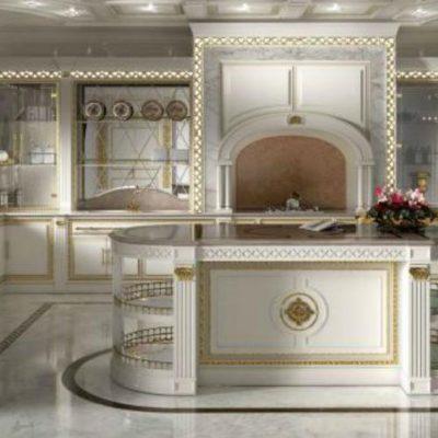 Роспись гарнитура кухонного барокко