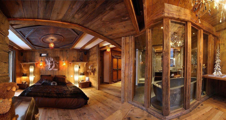 Спальня в стиле шале: сон в сельском домике