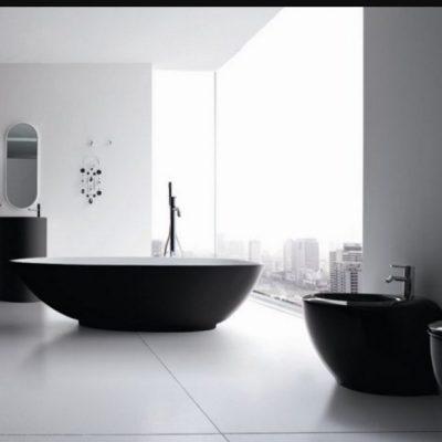 Стиль минимализм на фото ванной