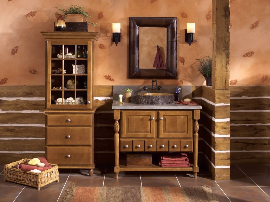 Шкафы в стиле кантри