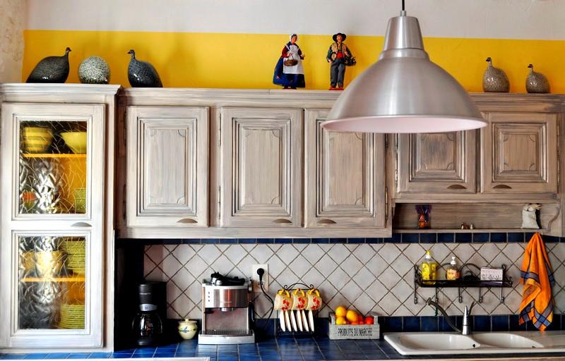 детали кухонного интерьера в стиле прованс