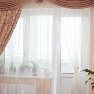 Стильные шторы на фото примере