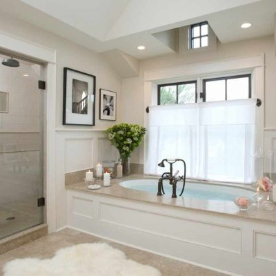 Стильное кантри ванной комнаты