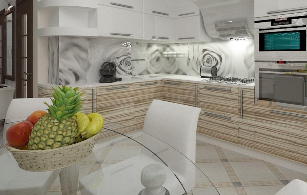 Кухня в полоску