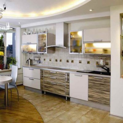 Кухня стиля зебра