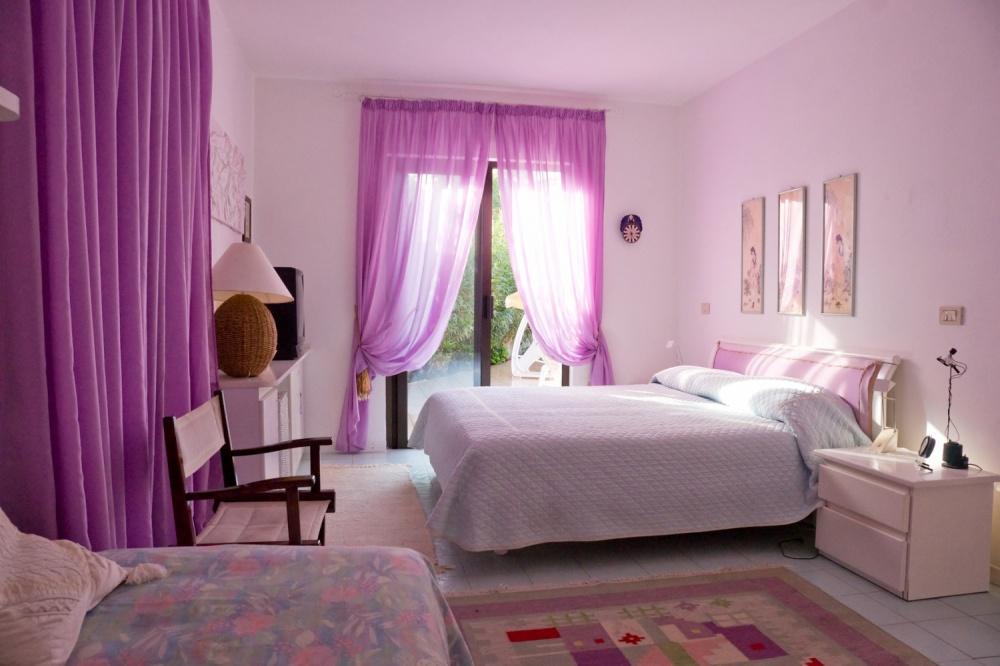 Спальня в цветах по фен шуй