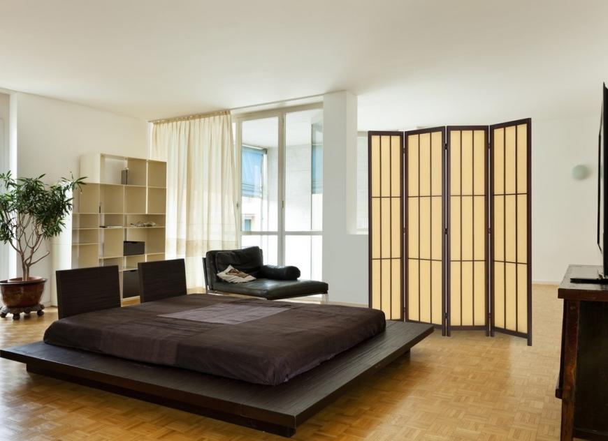 Интерьер спальной комнаты по фен шуй
