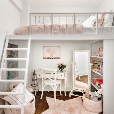 Комната для девушки в шебби стиле